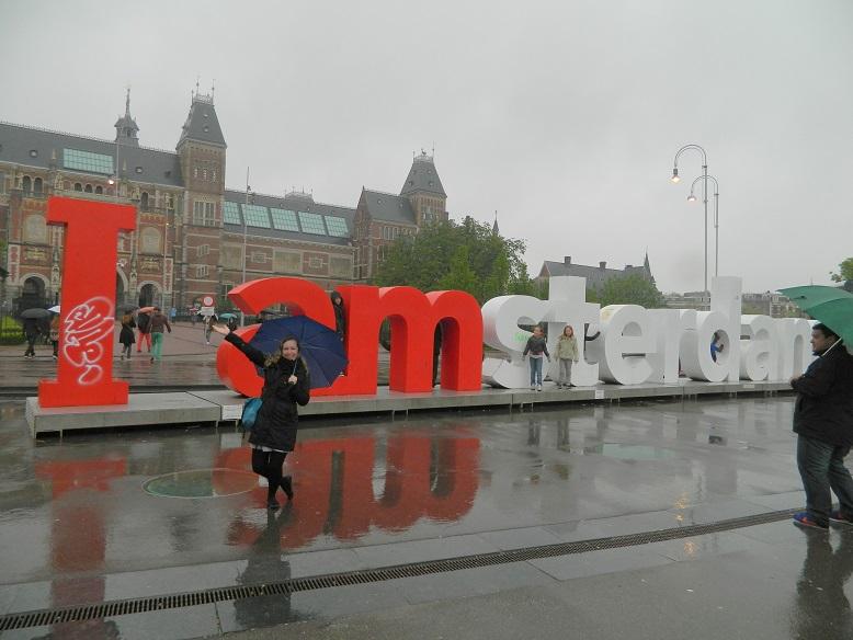 Amsterdam bei Regen: <br>Trotzdem eine Reise wert!