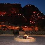 Pink Hostels: 7 Wonders Bedouin Camp in Petra, Jordanien