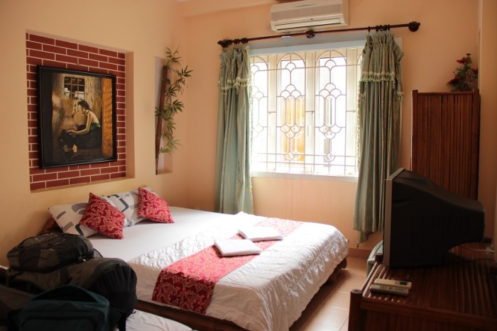 Pink Hostels: Das PP Backpackers in Saigon, Vietnam