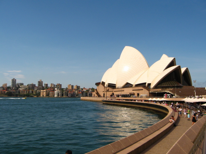 Was kosten 2 Monate Australien - Sydney Opera House