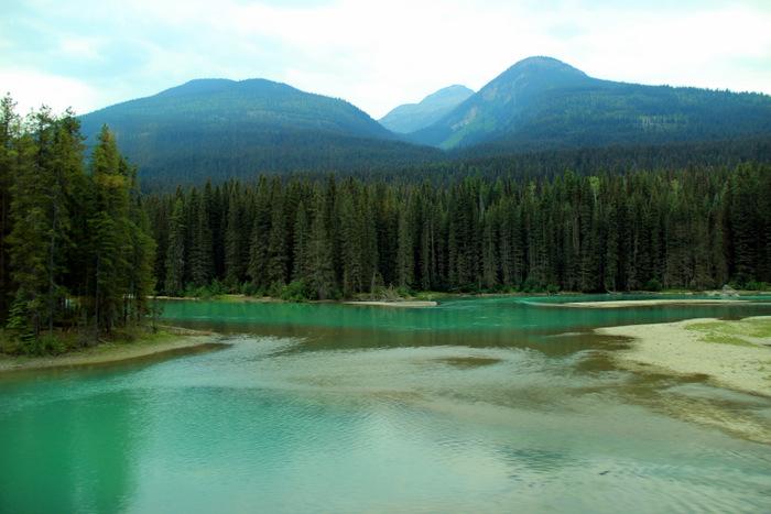 Mit dem Zug durch Kanada: Via Rail Kanada Gletscherwasser