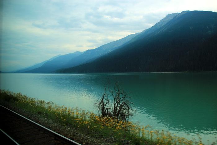 Mit dem Zug durch Kanada: Via Rail Kanada durch die Rockies