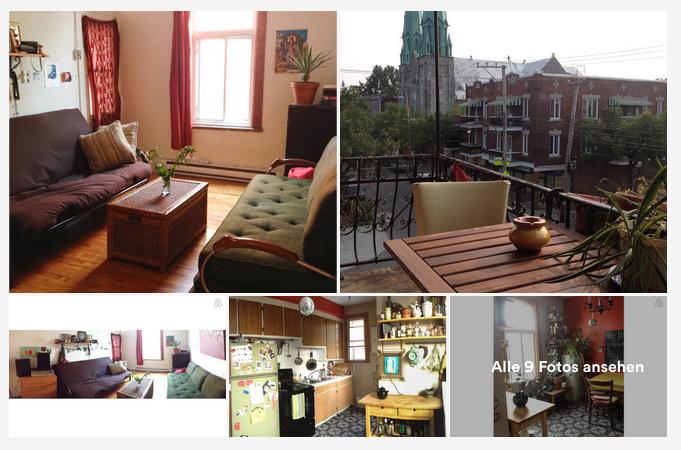 Airbnb-Erfahrungen-Unterkunft Montreal