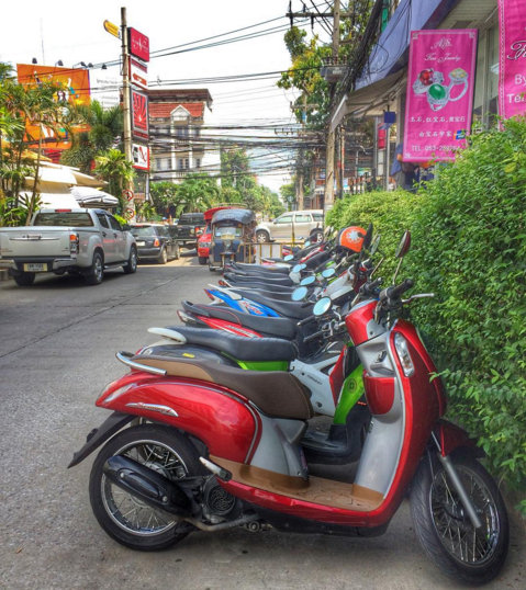 Chiang-Mai-Scooter