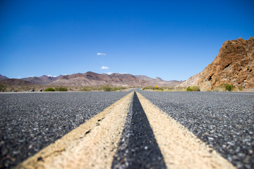 Lake Tahoe und das Death Valley: Ein Roadtrip von der Erde bis zum Mond!