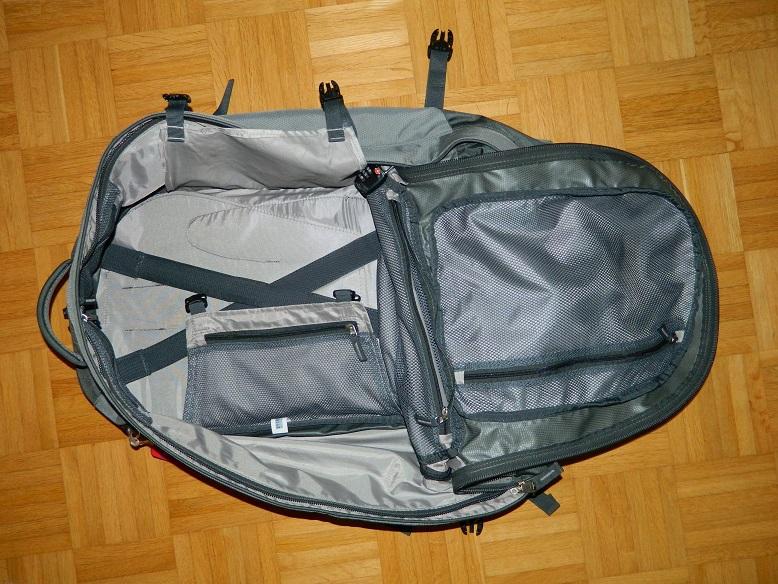 Reisecheckliste: Rucksack Deuter Traveller 55 + 10 SL Bewertung