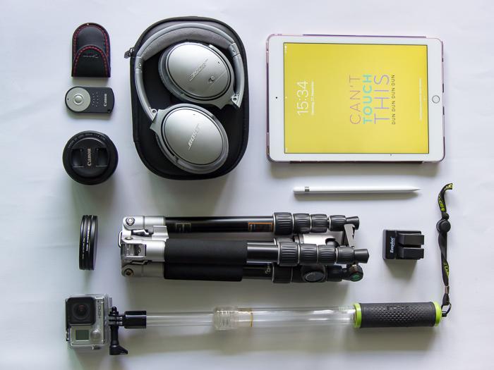 Diebstahlsicherer Rucksack für Deine technische Ausrüstung