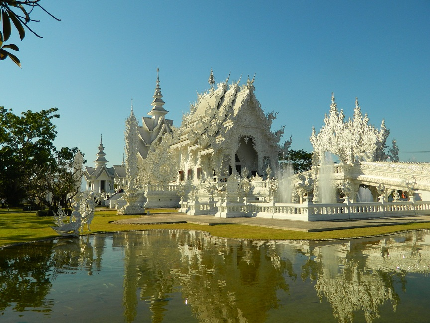 Weiße Tempel Thailand