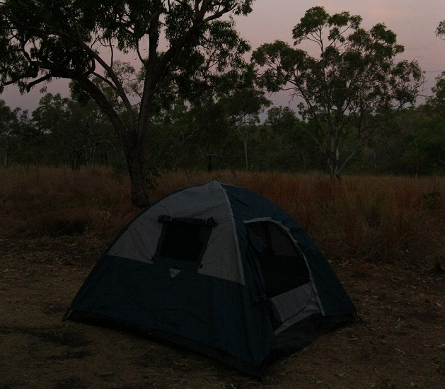 Übernachtung im Zelt: Roadtrip Australien