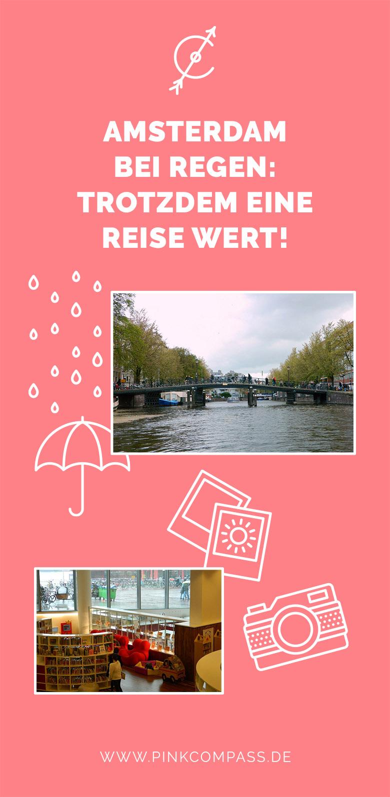 Amsterdam bei Regen - Was Du unternehmen kannst