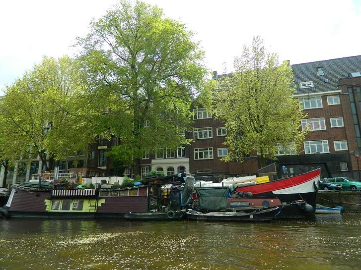 Trotzdem nach Amsterdam reisen: Amsterdam bei Regen - Tipp: Kanalbootstour