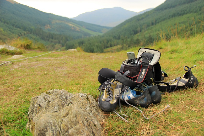 Klettern Schottland Highlands