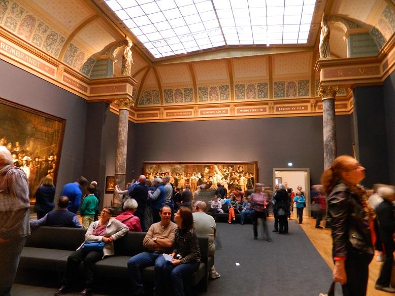 Trotzdem nach Amsterdam reisen: Amsterdam bei Regen - Tipp: Rijksmuseum