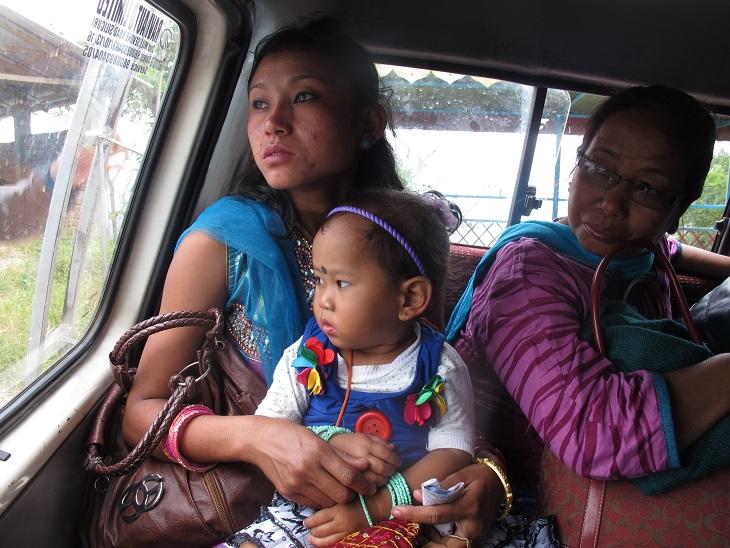 Allein reisende Frauen in Indien - Taxis für Frauen