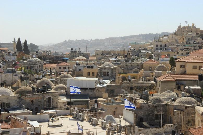 Überblick über Jerusalem, Israel