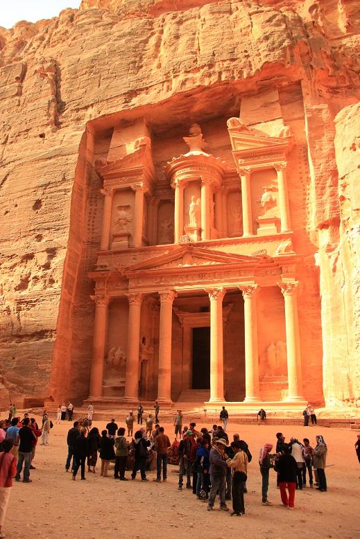 Petra Jordanien: Die Treasury