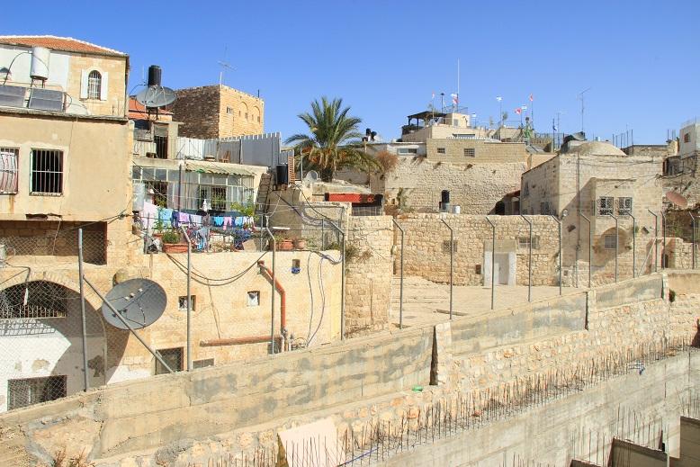 Ausblick auf Jerusalems Häuser in Israel
