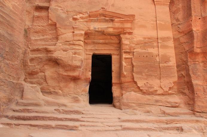 Petra Jordanien: Eines der Beduinen Camps