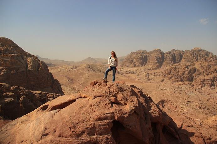 Petra Jordanien: Klettern lohnt sich