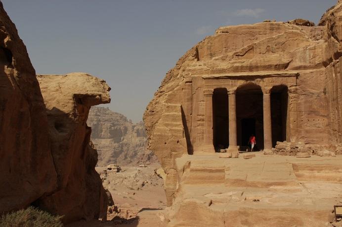Petra Jordanien: Architektur pur