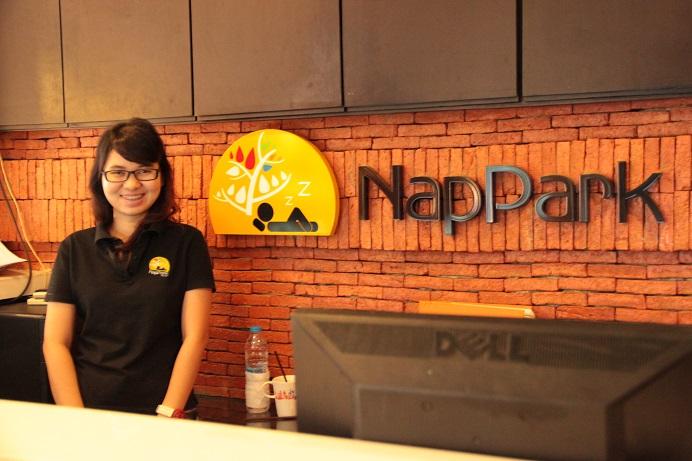 Thailand Bangkok - Frauenzimmer im NapPark Hostel
