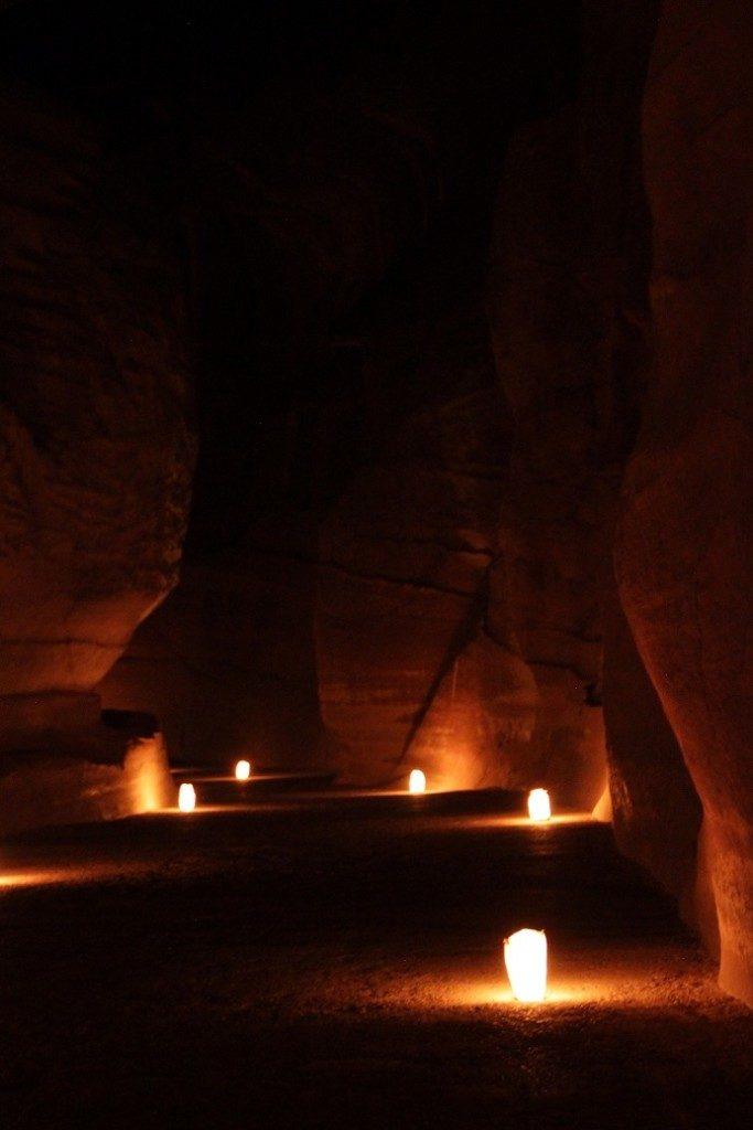 Petra, Jordanien… bei Nacht!