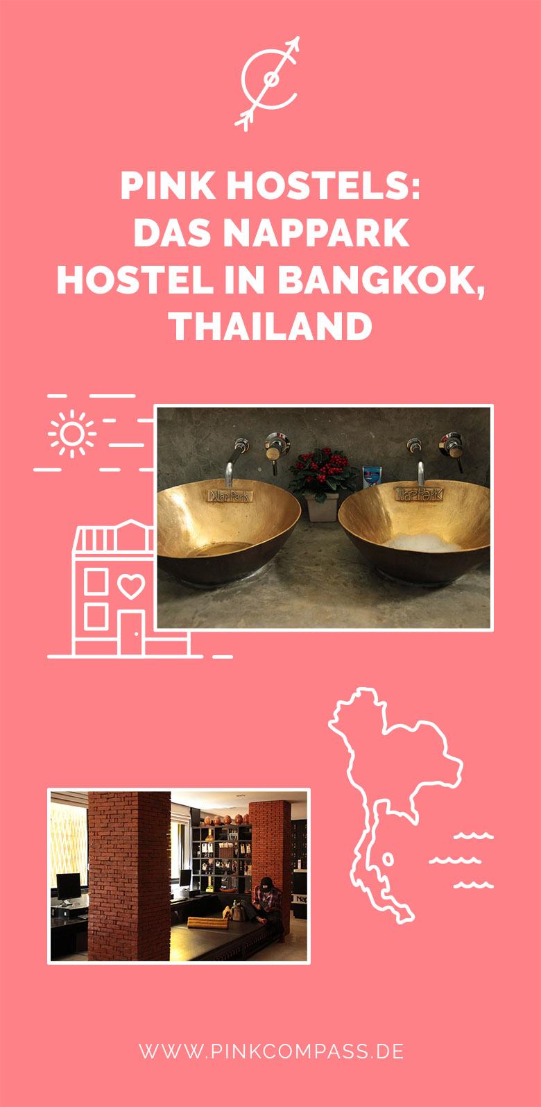 Pink Hostels: Meine Erfahrung mit dem Nappark Hostel in Bangkok, Thailand