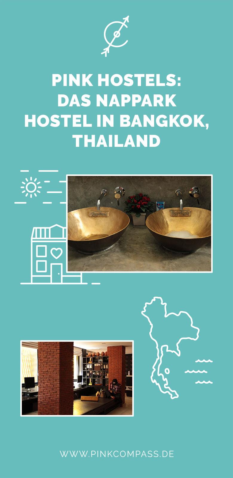 Meine Hostel-Empfehlung für Bangkok, Thailand: Das Nappark Hostel (Pink Hostels)