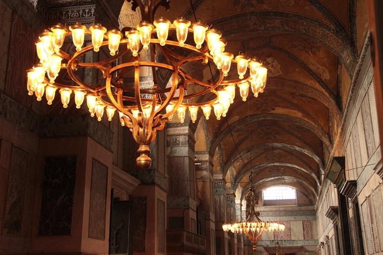 Hagia Sofia in Istanbul - die inneren Hallen