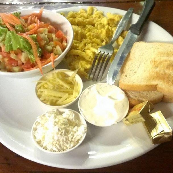 Bangkok - israelisches Frühstück