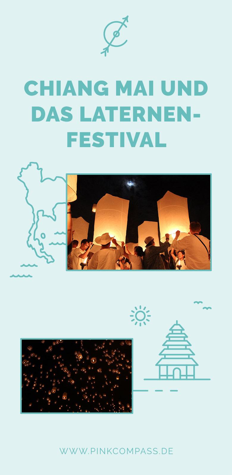 Das beeindrucktende Laternen-Festival in Chiang Mai