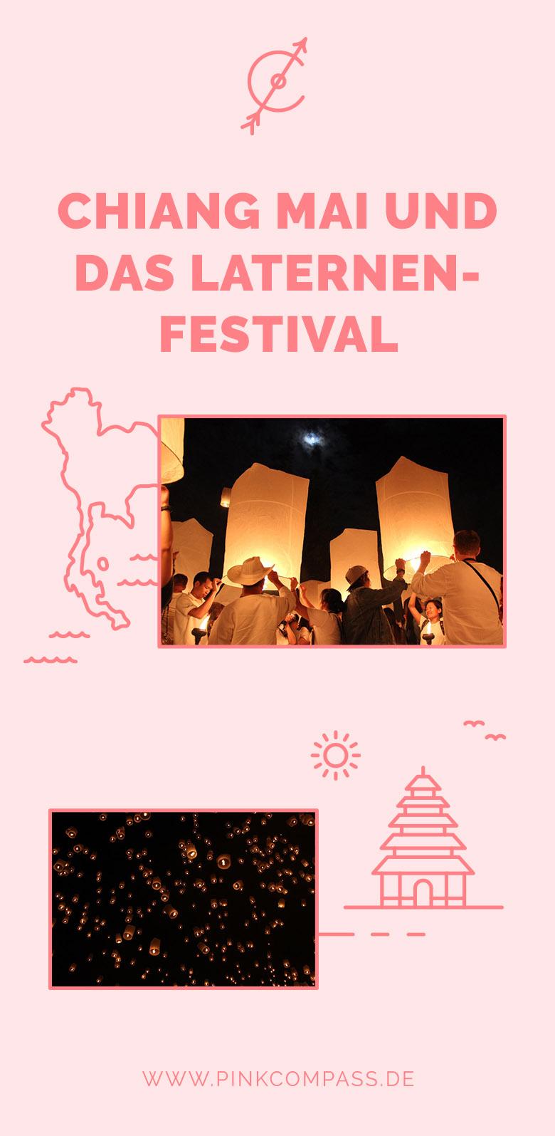 Das Laternen-Festival in Chiang Mai