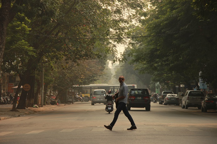 Vietnam Urlaub - Hanois Straßen