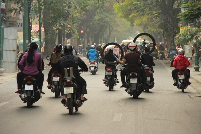 Vietnam Urlaub - Saigon und der Verkehr