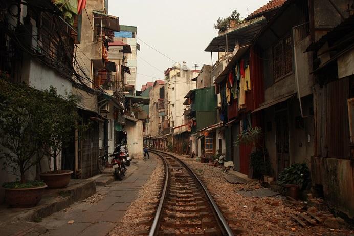 Vietnam Urlaub - Spaziergang in Hanoi
