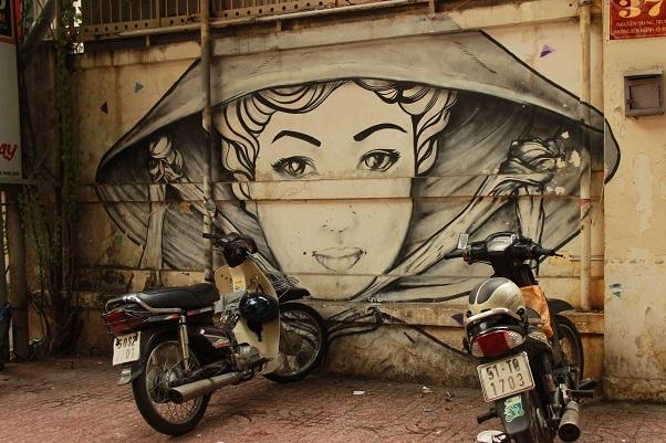 Vietnam Urlaub - Saigon Street Art