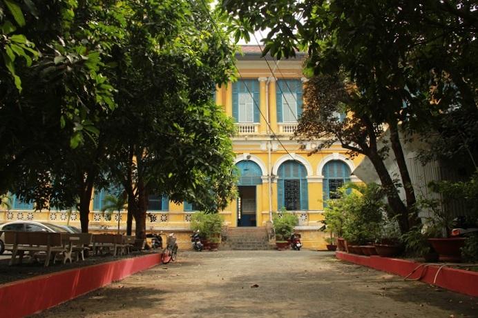 Vietnam Urlaub - Saigons Architektur