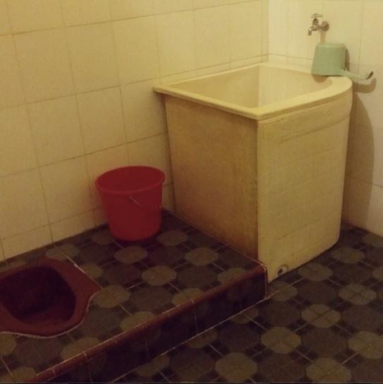 Indonesien Visum und asiatische Toiletten