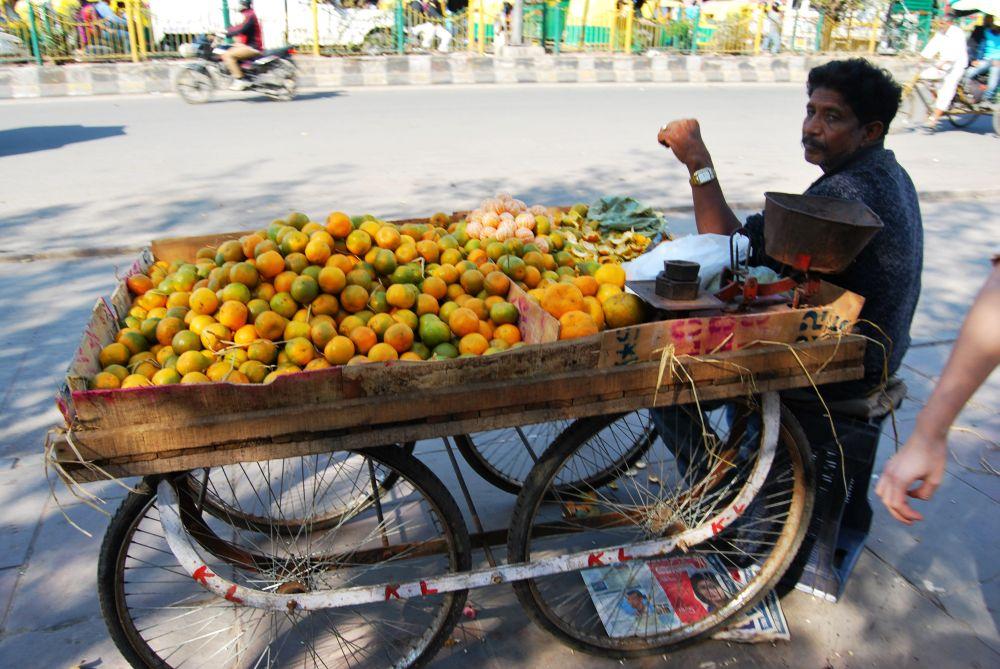 Als Frau in Indien reisen - Streetfood