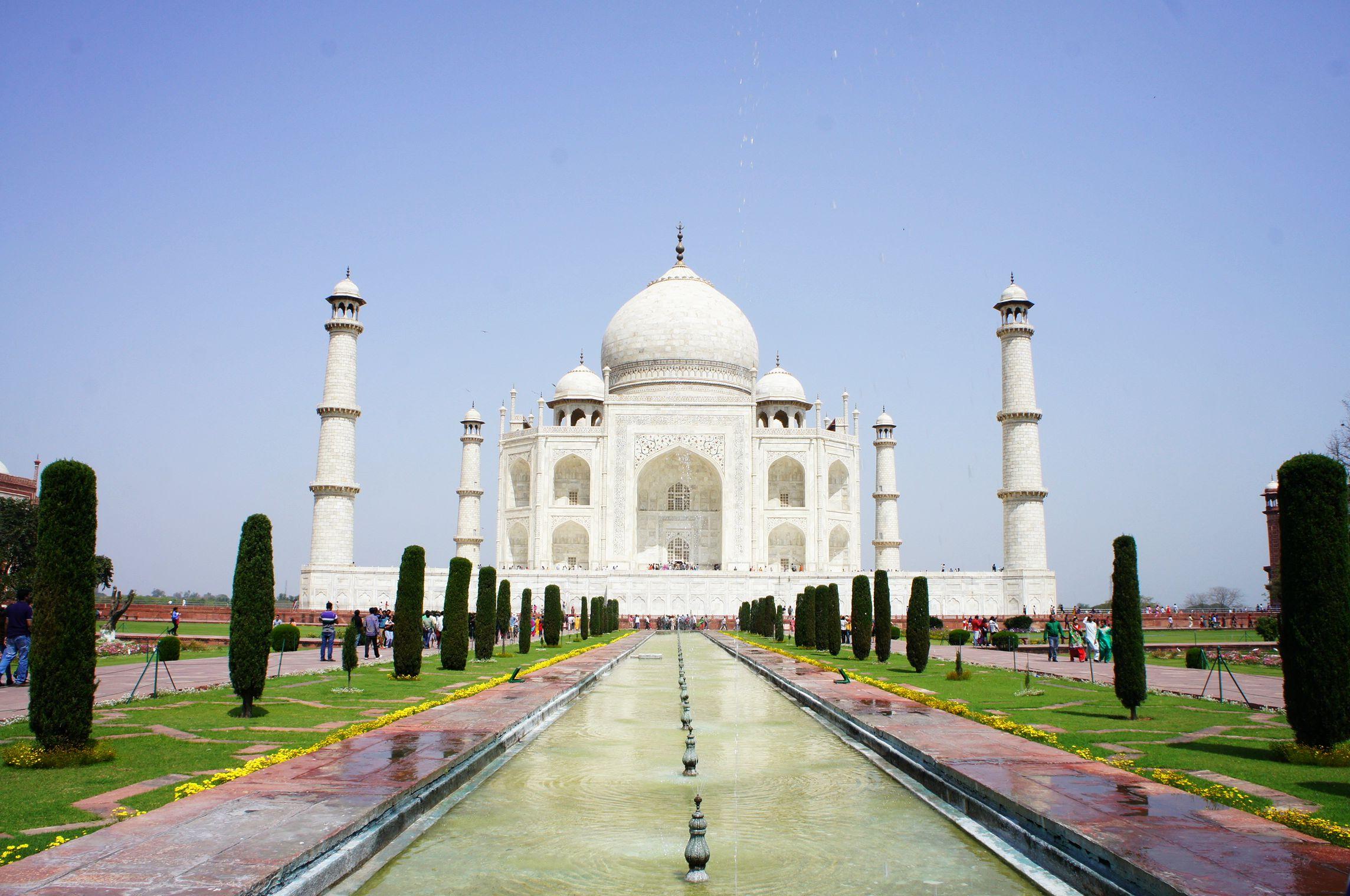 Als Frau in Indien reisen - Taj Mahal