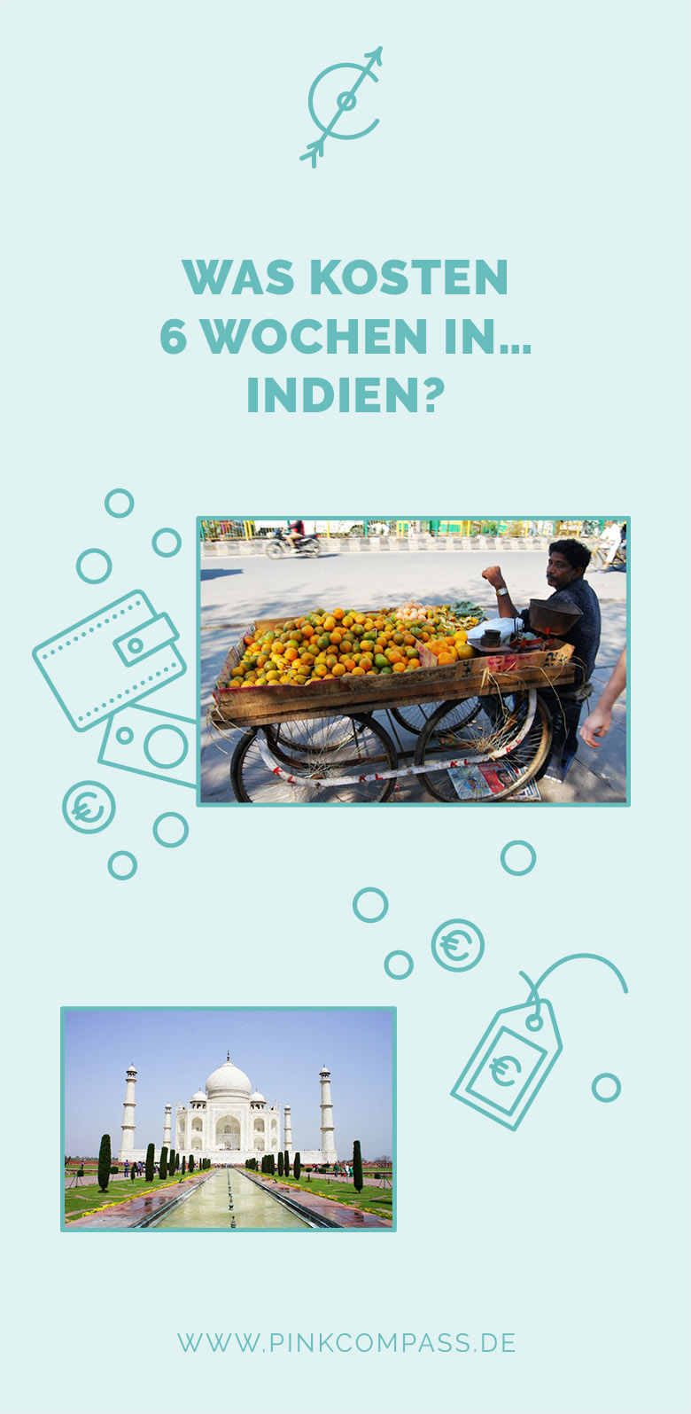 Welche Kosten erwarten Dich in Indien?