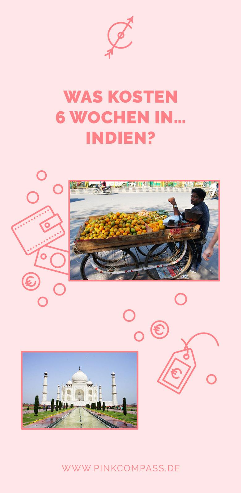 Wie viel Budget brauchst Du für 6 Wochen in Indien?