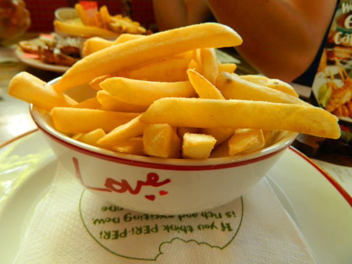 Heimweh auf Reisen - Gönn Dir Fast Food
