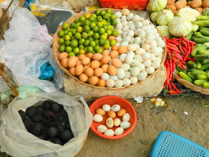 Tausend Jahr Eier in Kambodscha