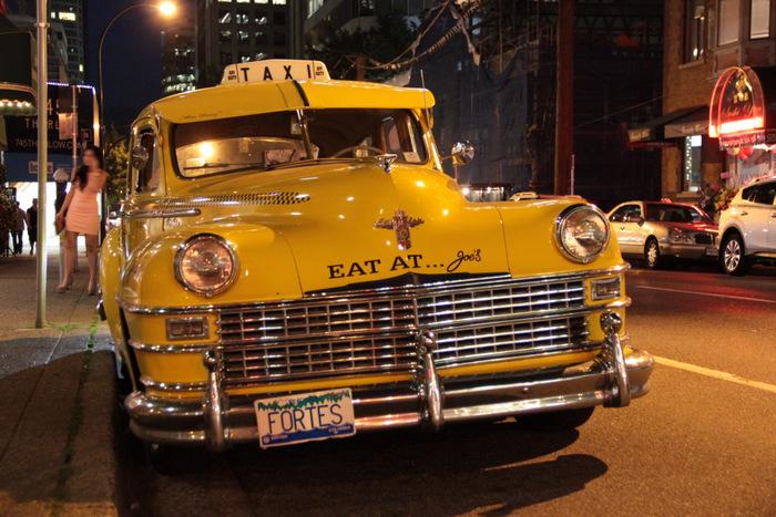 Als Frau alleine reisen - Taxi