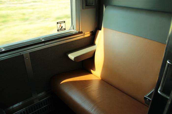 Via Rail Canada - Sitze Schlafkabine