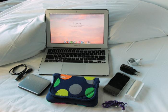 Packliste - Handgepäck für lange Zugfahrten - Entertainment