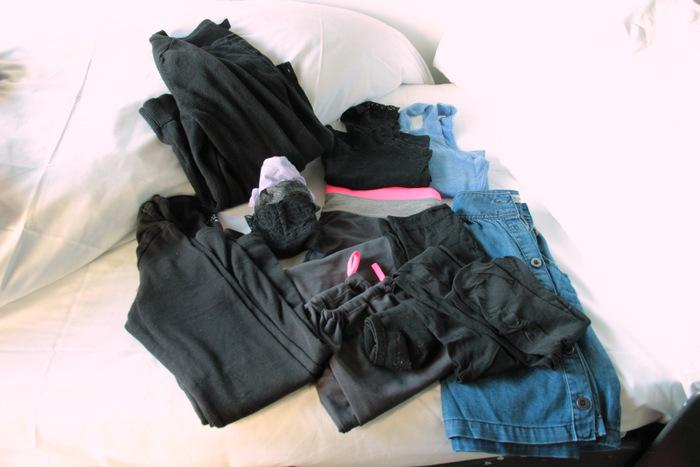 Packliste - Handgepäck für lange Zugfahrten - Kleidung