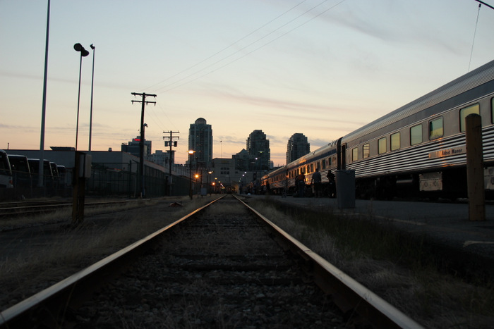Via Rail Kanada - Abfahrt