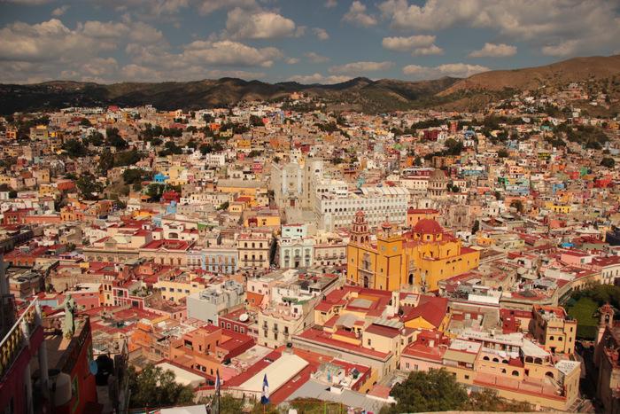 Mexico - Alleine reisen und Ausblick genießen